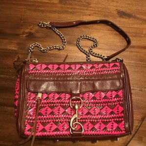 Rebecca Minkoff hot pink side bag